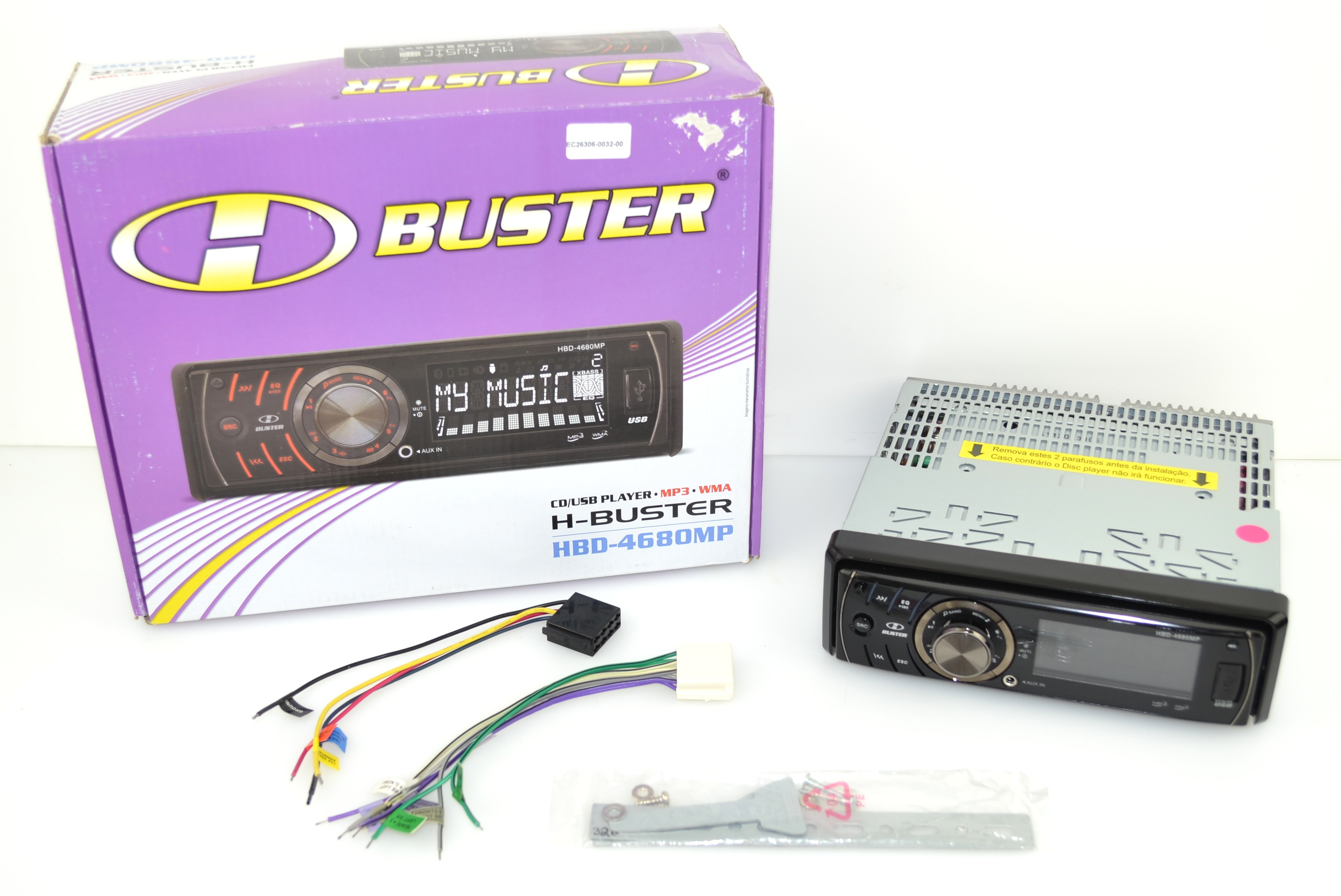 Autorádio BUSTER HBD-4680MP CD / MP3, USB